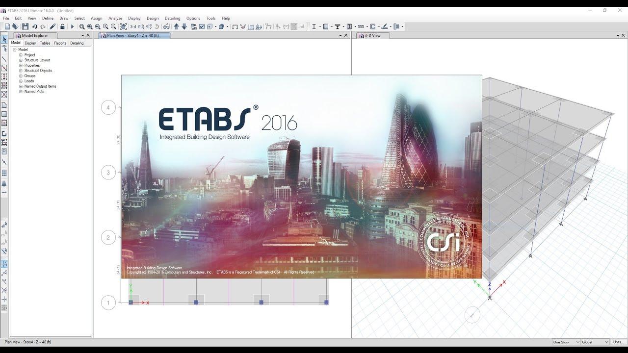 วิธีการติดตั้ง ETABS 2016 - HS4 WKE