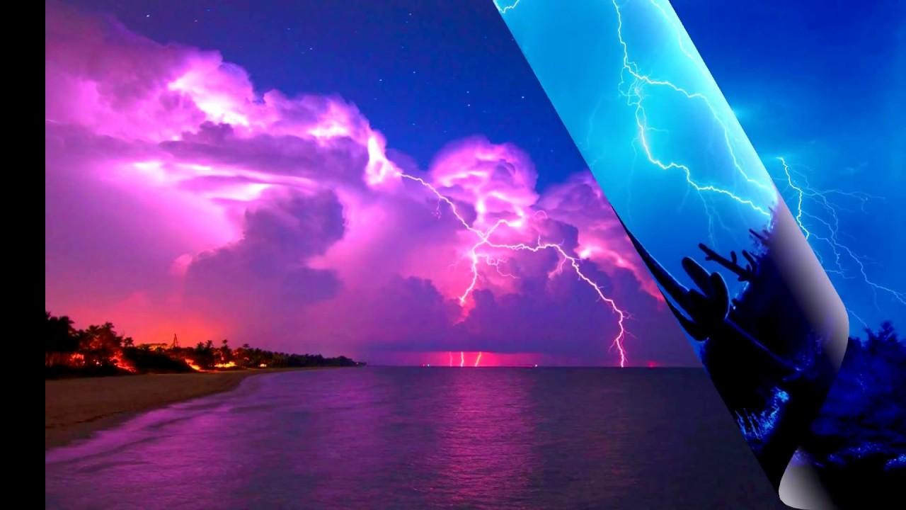 фото красивые молнии