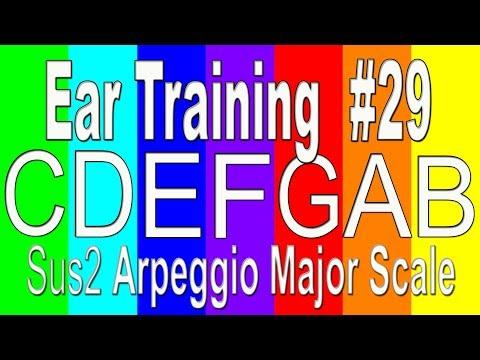 Ear Training for Musicians #29 | Sus2 Arpeggio in Major Scale