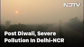 Diwali 2020: Cracker Ban Defied On Diwali, Air Pollution Soars In Delhi, Nearby Areas