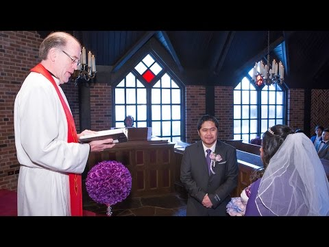The Wedding Officiant of The Old Mill Inn & Spa Wedding Chapel Toronto