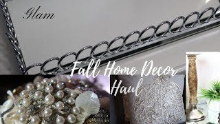 GLAM HOME DECOR HAUL FALL 2017