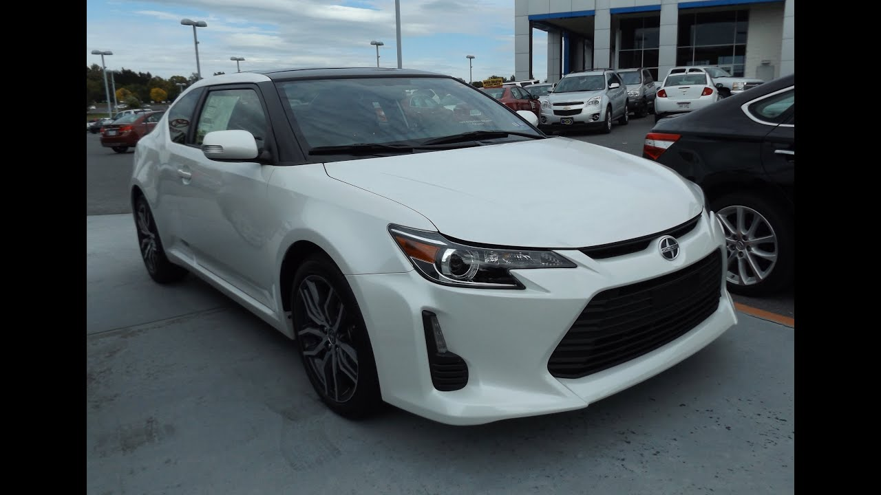 2015 Scion TC 25L Start Up Tour And Review YouTube