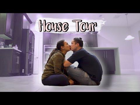 EMPTY HOUSE TOUR! Natalie & Dennis ♡