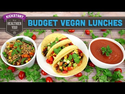 3 Affordable Vegan Lunch Recipes – Collab with Fablunch! Mind Over Munch Kickstart 2016