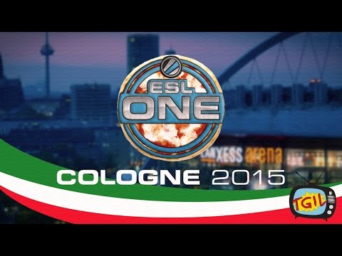 Players and Casters answer the question 'What is your favorite pizza?' @ESL Cologne
