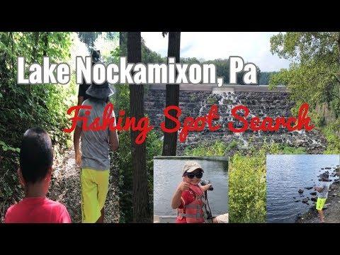 Lake Nockamixon - Finding Fishing Spots