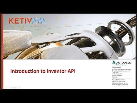 Introduction to Inventor API (iLogic) | Autodesk Virtual
