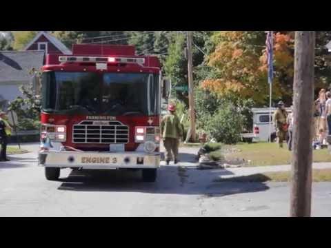 Electrical Fire   41 Glen Street  Farmington New Hampshire