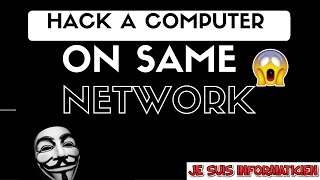 Hack any computer on same network with Kali Linux (working 100%)