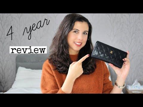 Chanel Wallet 4 Year Review | Summ3rnightfashion