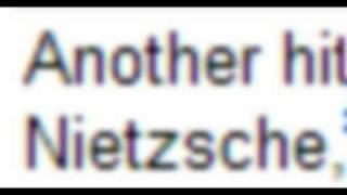 Three Minute Philosophy: Friedrich Nietzsche Thumbnail
