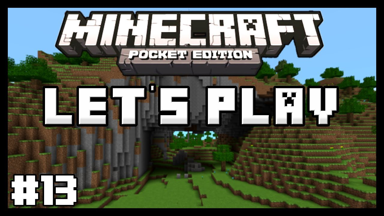 Let's Play Minecraft Pocket Edition - Ep. 13 - 500 Subscribers