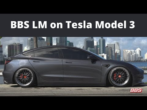 Fitted with the BBS LM on Michelin Pilot Sport 4S, the Tesla Model 3 was the perfect car to add to our video collection.  The BBS LM is a 2-Piece Die Forged Aluminum Wheel.  It is a modern classic that pairs well with any vehicle you put it on.    For mor