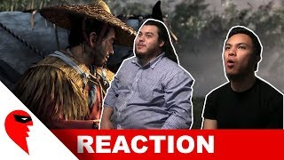 Ghost of Tsushima E3 2018 Gameplay Reaction