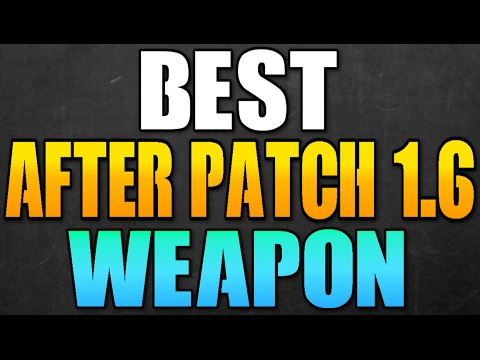 THE DIVISION - BEST WEAPON AFTER 1.6 PATCH! MOST OVERPOWERED WEAPONS AFTER 1.6 PATCH