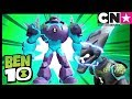 Ben 10 Toy Play For Kids | Omni-Enhanced Shock Rock and XLR8 | Cartoon Network