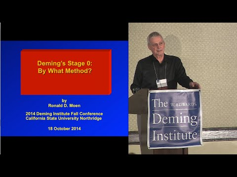 Ron Moen - Deming's Stage 0: By What Method?