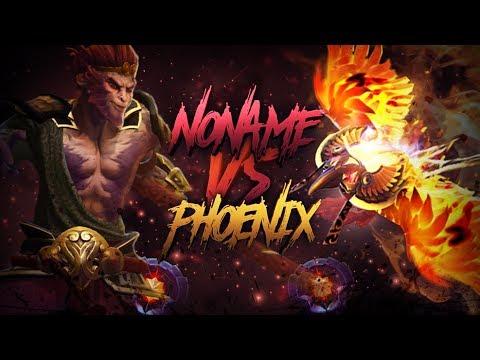 N0Name Vs Phoenix (25lvl DotaPlus, 6000+ MMR, 1000+ Games 67% WR) Gameplay