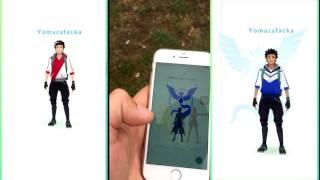 Покемон Го Pokemon GO 5 уровень выбор команды #2