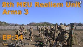 8th MEU & 11th MEU Joint Operation - Arma 3 Realism Unit - EP:35