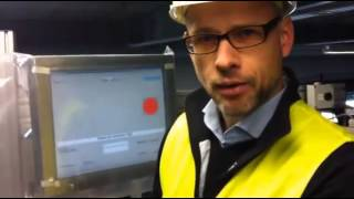 Einblick in Testbetrieb des Adidas Logistikzentrums im Niedersachsenpark in Rieste