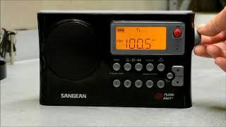 Best Radio For AM Reception? - Sangean PR-D4W Portable Radio Review - Off Grid Entertainment