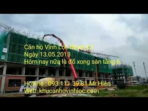 Căn hộ Vĩnh Lộc - tiến độ ngày 13.05.2018