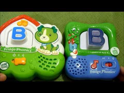 Review of Leapfrog Fridge Phonics Alphabet Toy - Year Model 2009 & 2002