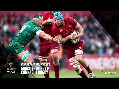 Guinness PRO14 Round 21 Highlights: Munster Rugby v Connacht Rugby