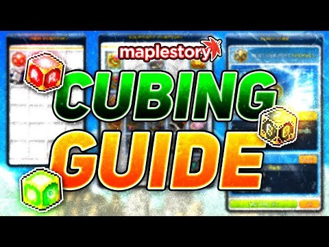 MapleStory: Complete Cubing/Potential Guide! (2019)