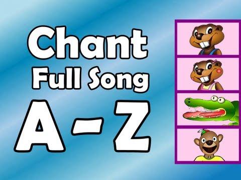 Alphabet Chant - FULL SONG - Preschool Kindergarten Video