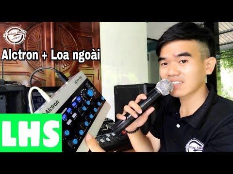 LHS | Hướng Dẫn Kết Nối Soundcard Alctron Vào Mixer Karaoke Gia Đình | Lê Hoàng Studio | 0989737960