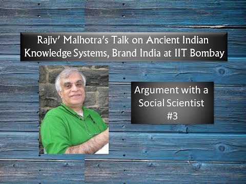 Argument with a Social Scientist at IIT Bombay: Rajiv Malhotra #3