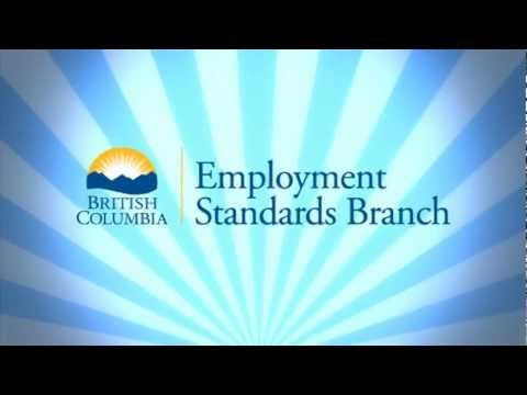 Navigating the British Columbia Employment Standards Branch Website