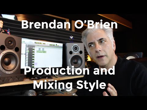 Music Production - Brendan O'Brien Music Production Techniques Explained