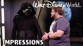 Kylo Ren Chased Me Out for Doing Jar-Jar Binks Impression! - Disney World Impressions