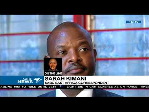 Update on Burundi referendum election: Sarah Kimani