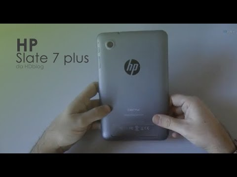 HP Slate 7 plus la recensione di HDblog.it