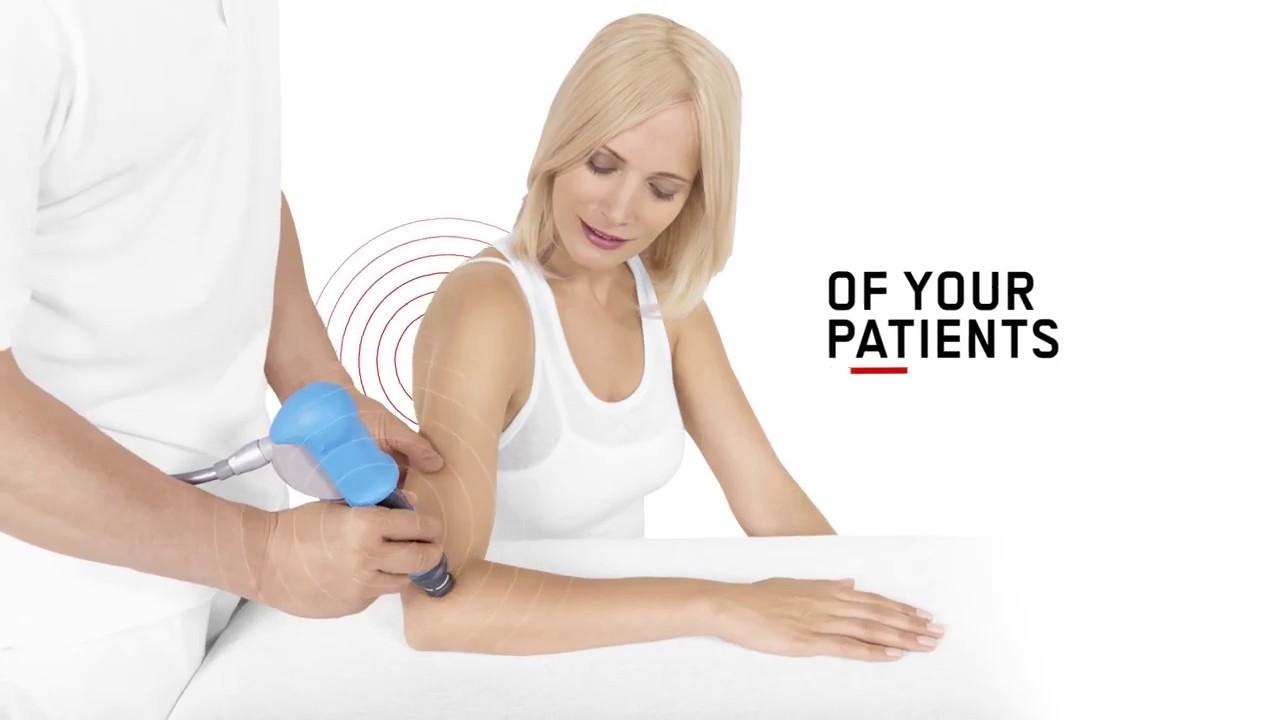 Onde D Urto Ems Dolorclast In Fisioterapia Trattamento Epicondilite Ed Epitrocleite Youtube