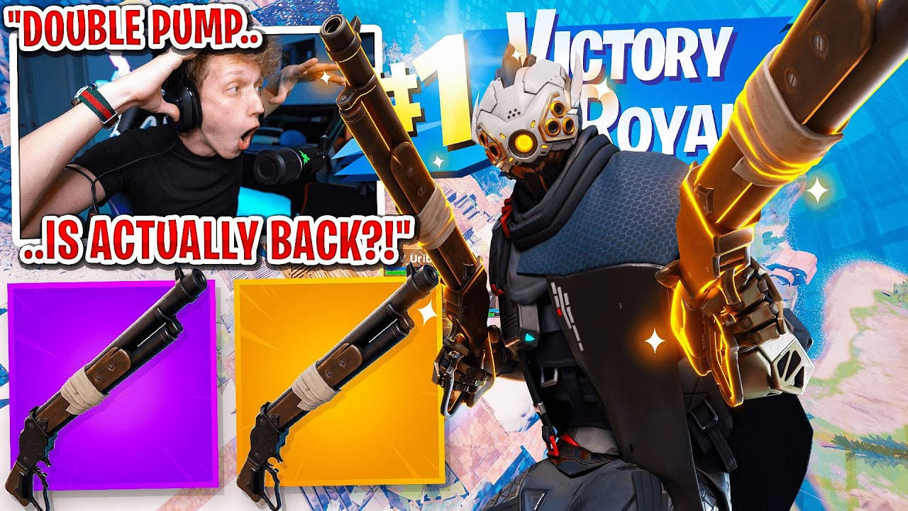 I got 100 FANS to scrim using DOUBLE PUMP in Fortnite... (it's actually back)