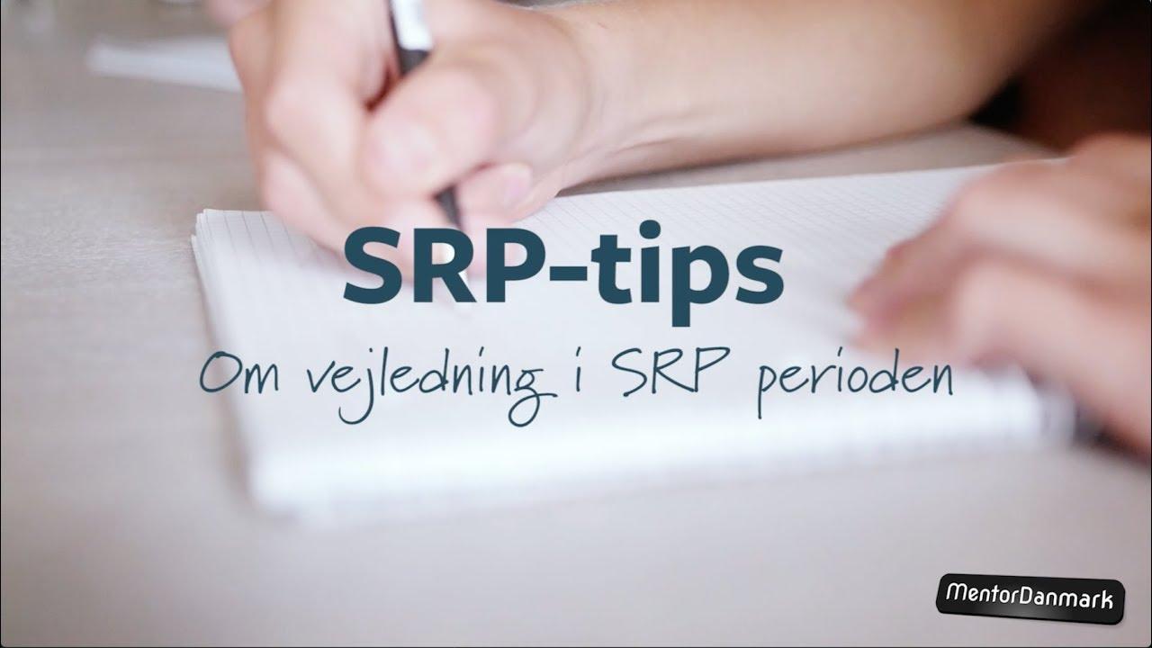 Nannas SRP-tips: Om vejledning i SRP perioden