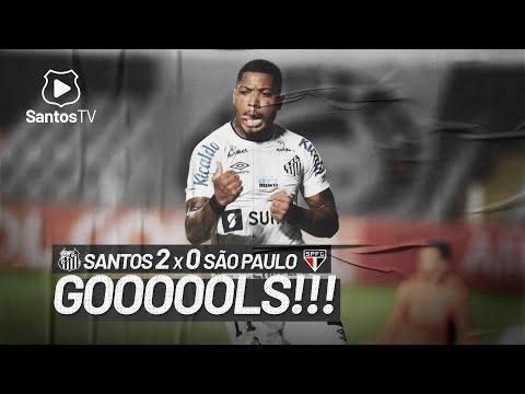 SANTOS 2 X 0 SÃO PAULO | GOLS | BRASILEIRÃO (20/06/21)