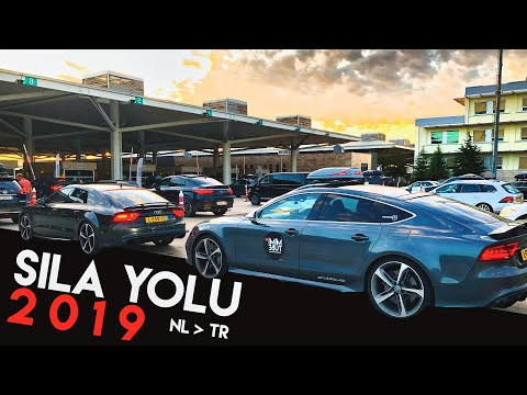 Sıla Yolu 2019 - Audi RS7 ile kaç depo ve kaç saatte Türkiye'ye vardık? Polis Ceza yazdı!