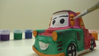Тачки мультфильм 3D Раскраска Байки мэтра Сырник тачки Wheelbarrows Cartoon