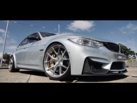 BMW M3 F80 in Silverstone gets fitted with forged HRE P101 Wheels