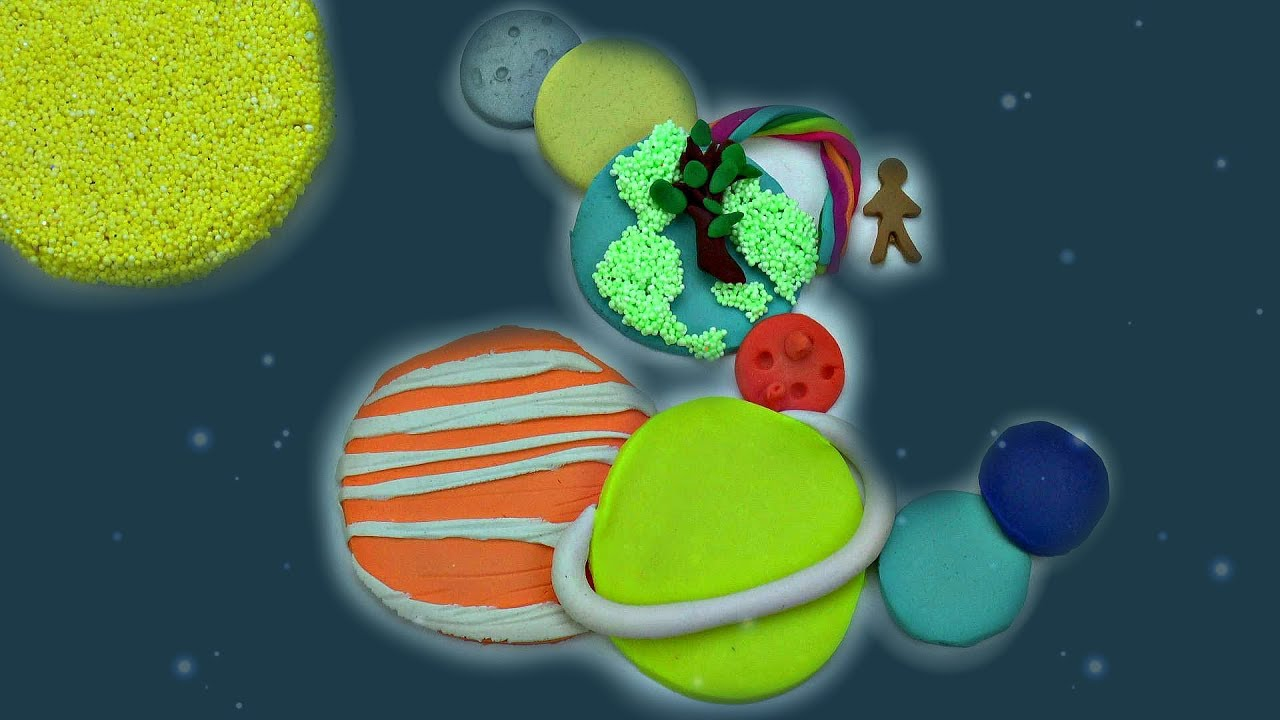 what colors are solar system planets diy how to make play doh