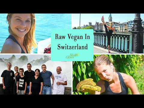 What I Ate On A Low Fat Raw Diet In Zurich - VLOG #2