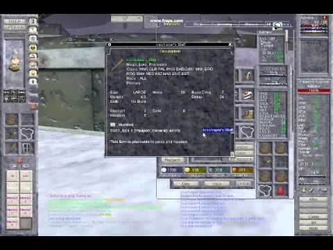 Everquest Classic UI & Spell Effects