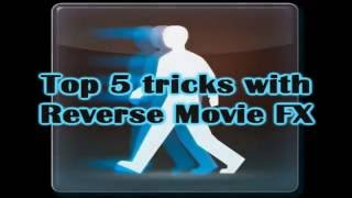 Reverse Movie FX - Magic Video - Top 5 Tricks(Hello everyone! In this video we're going to show you 5 cool tricks used with android app called Reverse Movie FX. You can download it on Google Play Store: ..., 2016-06-17T15:48:51.000Z)
